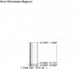 9mm Winchester Mag reamer rental