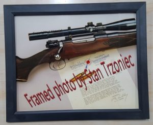 Framed Ackley Picture